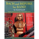 Bach and Before for Band - Alto or Baritone Saxophone