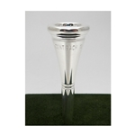 Bach 10 Silver-Plated French Horn Mouthpiece