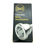 Bach 1G Large Shank Silver-Plated Trombone or Baritone Mouthpiece