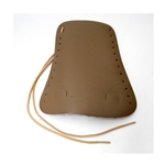 French Horn Guard, soft tan leather with laces