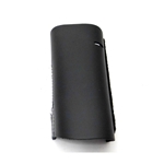 French Horn Guard, black leather with velcro