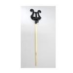 "Conn Plasti-Lyre 9"" bendable lyre"
