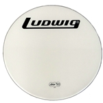 "Ludwig Weather Master 24"" Smooth White Bass Drum Head, Heavy"