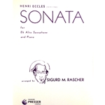 ECCLES - Sonata for Alto Saxophone and Piano