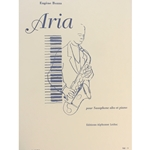 BOZZA - Aria for Alto Saxophone and Piano