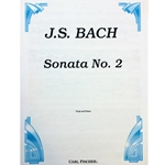 BACH - Sonata No. 2 in Eb Major for Flute and Piano