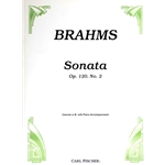 BRAHMS - Sonata in F Major, Op.120, No.2 for Clarinet and Piano