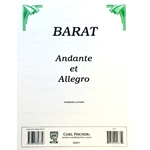 BARAT - Andante et Allegro for Trombone & Piano