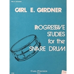Progressive Studies for the Snare Drum, Book 3 Advanced