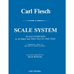 Carl Flesch Scale System: Exercises for Violin