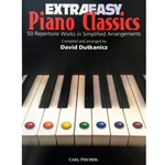 Extra Easy Piano Classics (50 Repertoire Works in Simple Arrangements)