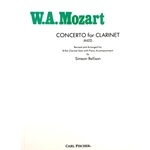 MOZART - Concerto for Clarinet, K.622 with Piano Accompaniment