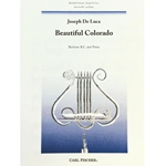 DE LUCA - Beautiful Colorado (bass clef edition)