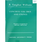 VAUGHAN WILLIAMS - Concerto for Oboe and Strings (reduction for oboe & piano)
