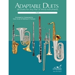Adaptable Duets: 29 Duets for Any Wind or Percussion Instruments (Flute Book)