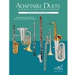 Adaptable Duets: 29 Duets for Any Wind or Perc. Instruments (Trombone, Euphonium, or Bassoon Book)