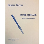 BLOCH - Suite Modale for Flute & Piano