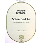 BERGSON - Scene and Air from Luisa di Montfort, Op. 82, for Clarinet & Piano
