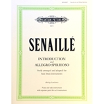 SENAILLE - Introduction and Allegro Spiritoso for Bass Brass Instrument & Piano