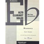 KOEPKE - Mummery for Eb Alto Clarinet with Piano Accompaniment