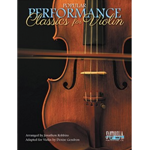 Popular Performance Classics for Violin (includes violin part with CD)