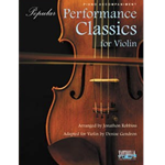 Popular Performance Classics for Violin (Piano Accompaniment only)