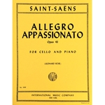 SAINT-SAENS - Allegro Appassionato, Opus 43 for Cello & Piano