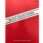 Band Encounters - Bass Drum & Cymbals, Book 1