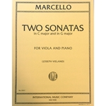 MARCELLO - Two Sonatas (G Major and C Major) for Viola and Piano