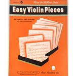 Music for Millions Volume 6: Easy Violin Pieces