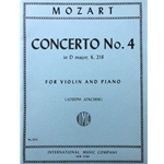 MOZART - Concerto No. 4 in D Major, K.218 for Violin & Piano