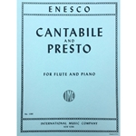ENESCO - Cantabile and Presto for Flute and Piano