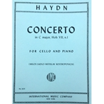 HAYDN - Concerto in C Major, Hob. VII, n.1 for Cello and Piano