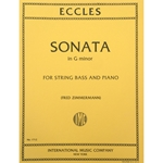 ECCLES - Sonata in G minor for String Bass and Piano