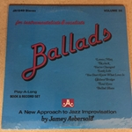 Vinyl Record Accompaniment for Aebersold Volume 32