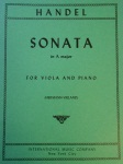 HANDEL - Sonata in A Major for Viola & Piano