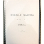 RUSSELL - Harlequin Concerto for Double Bass & Orchestra (Solo with Piano Score)