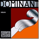 Dominant Violin E String, 3/4 (Chrome steel, Loop end)