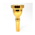 Bach 18 Gold-Plated Tuba/Sousaphone Mouthpiece