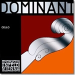 Dominant Cello Single G String, 4/4, silver wound