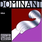 "Dominant Viola Single D String for 14.5-15"" viola, silver wound"