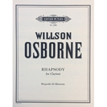 OSBORNE - Rhapsody for Clarinet