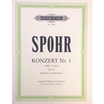 SPOHR - Concerto No. 1 in C minor Op. 26 for Clarinet & Piano