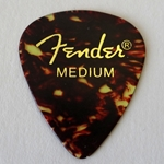 Fender Classic Celluloid Guitar Pick Medium (single)