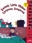 Santa's Little Helper Christmas Songbook for Alto/Bari Sax (w/CD)