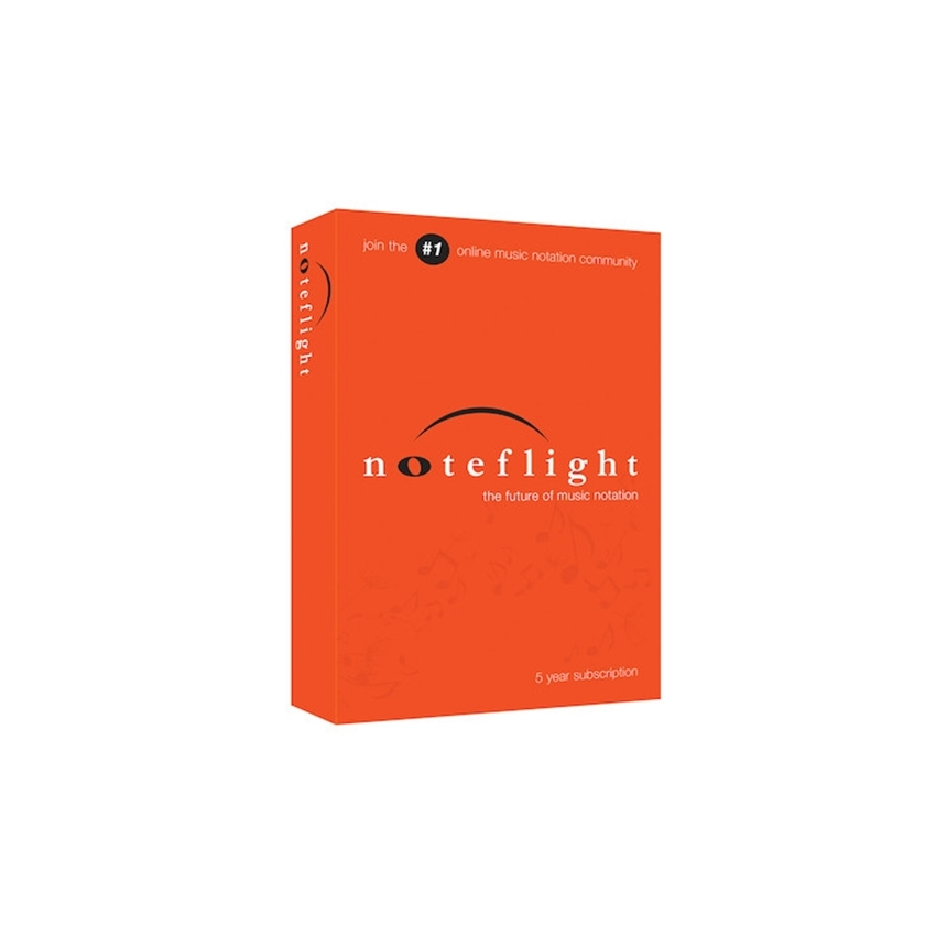 Noteflight® 5-Year Subscription