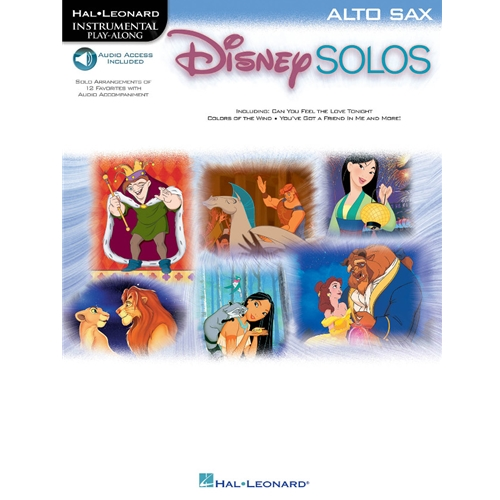 Disney Solos for Alto Saxophone