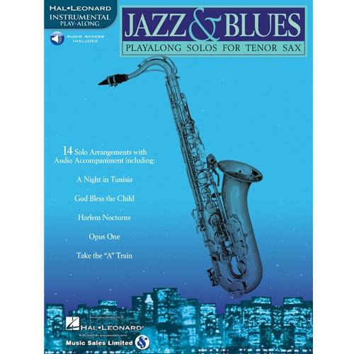 Jazz & Blues for Tenor Saxophone