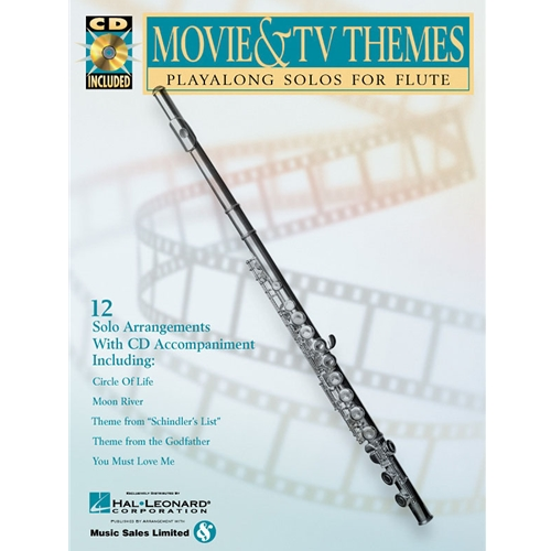 Movie & TV Themes for Flute