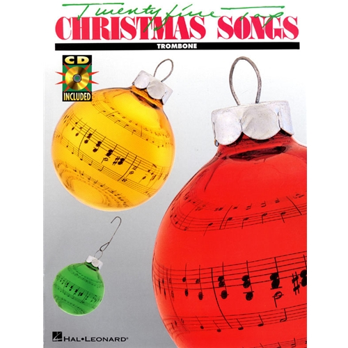 Top Christmas Songs.25 Top Christmas Songs For Trombone W Cd